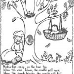 Nursery Rhymes Printables Coloring Pages. Nursery Rhyme Coloring   Free Printable Nursery Rhymes
