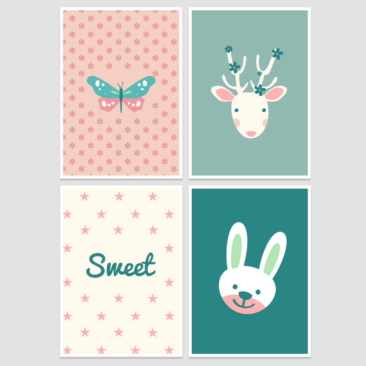 Nursery Wall Decor – Free Printable! - Belivindesign - Free Printable Decor