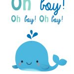 Oh Boy   Free Baby Shower & New Baby Card | Greetings Island   Free Printable Baby Cards