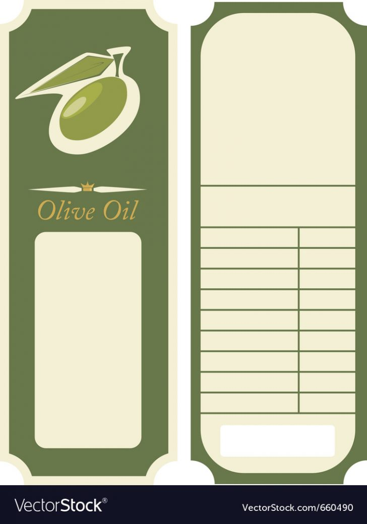 Free Printable Olive Oil Labels