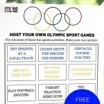 Olympic Sports Activities Printable For Kids Summer Olympics   Free Printable Summer Games