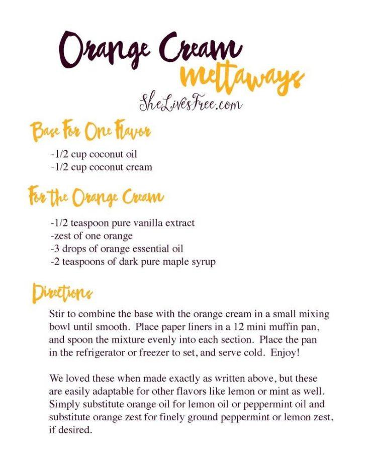 Free Printable Dessert Recipes