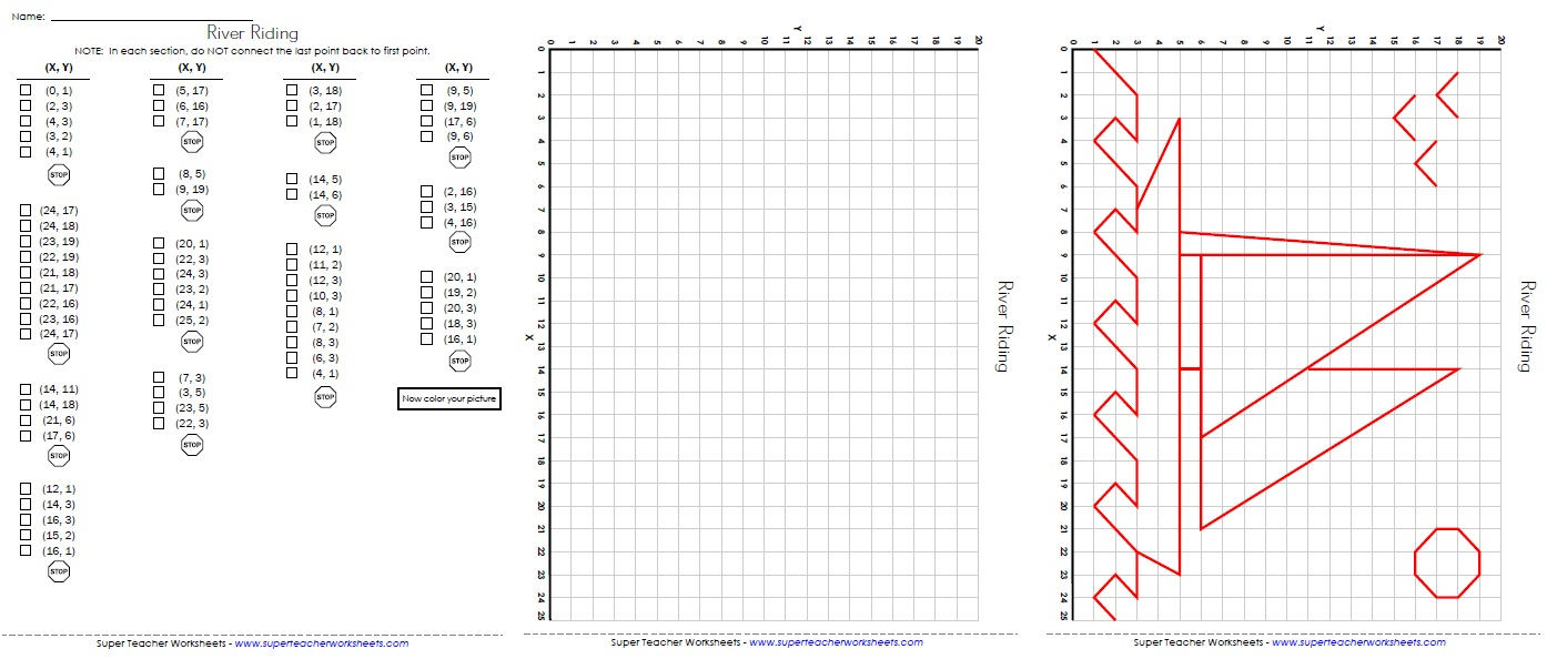 Ordered Pairs And Coordinate Plane Worksheets - Free Printable Coordinate Graphing Worksheets