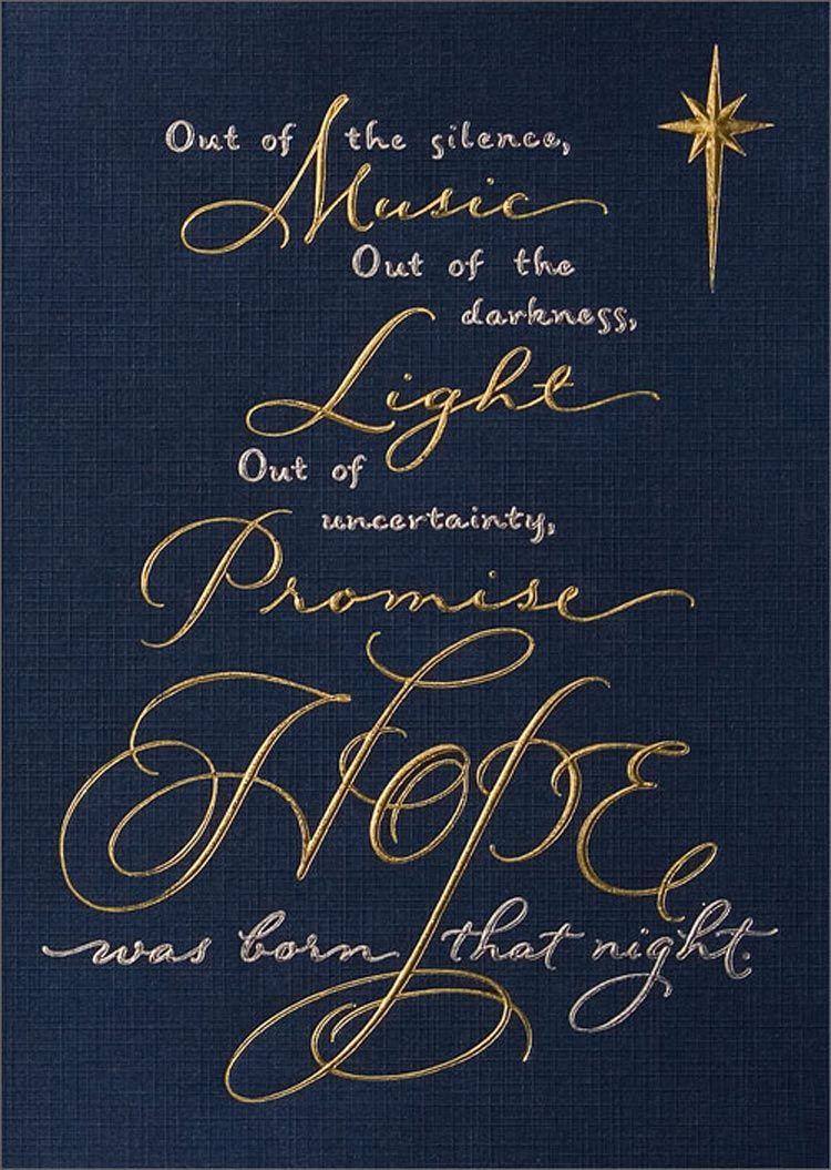 Out Of The Silence.   Christmas   Pinterest   Christmas Quotes - Free Printable Christian Christmas Greeting Cards