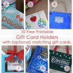 Over 50 Printable Gift Card Holders For The Holidays | Gcg   Free Printable Christmas Money Holders