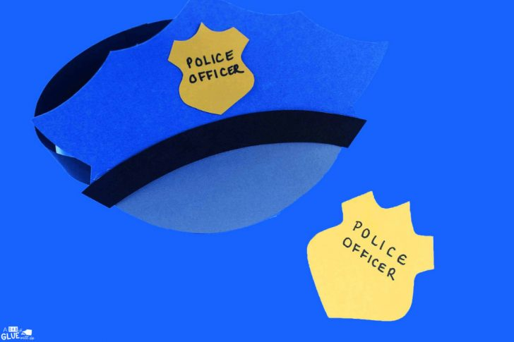 Free Printable Police Hat