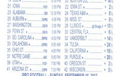Parlay Bets In The Nfl – Free Printable Parlay Cards