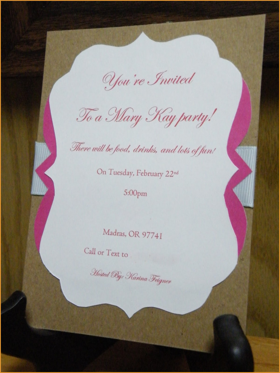 Party Invitations: Simple Mary Kay Party Invitations Ideas Mary Kay - Mary Kay Invites Printable Free