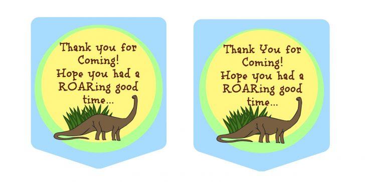 Free Printable Dinosaur Labels