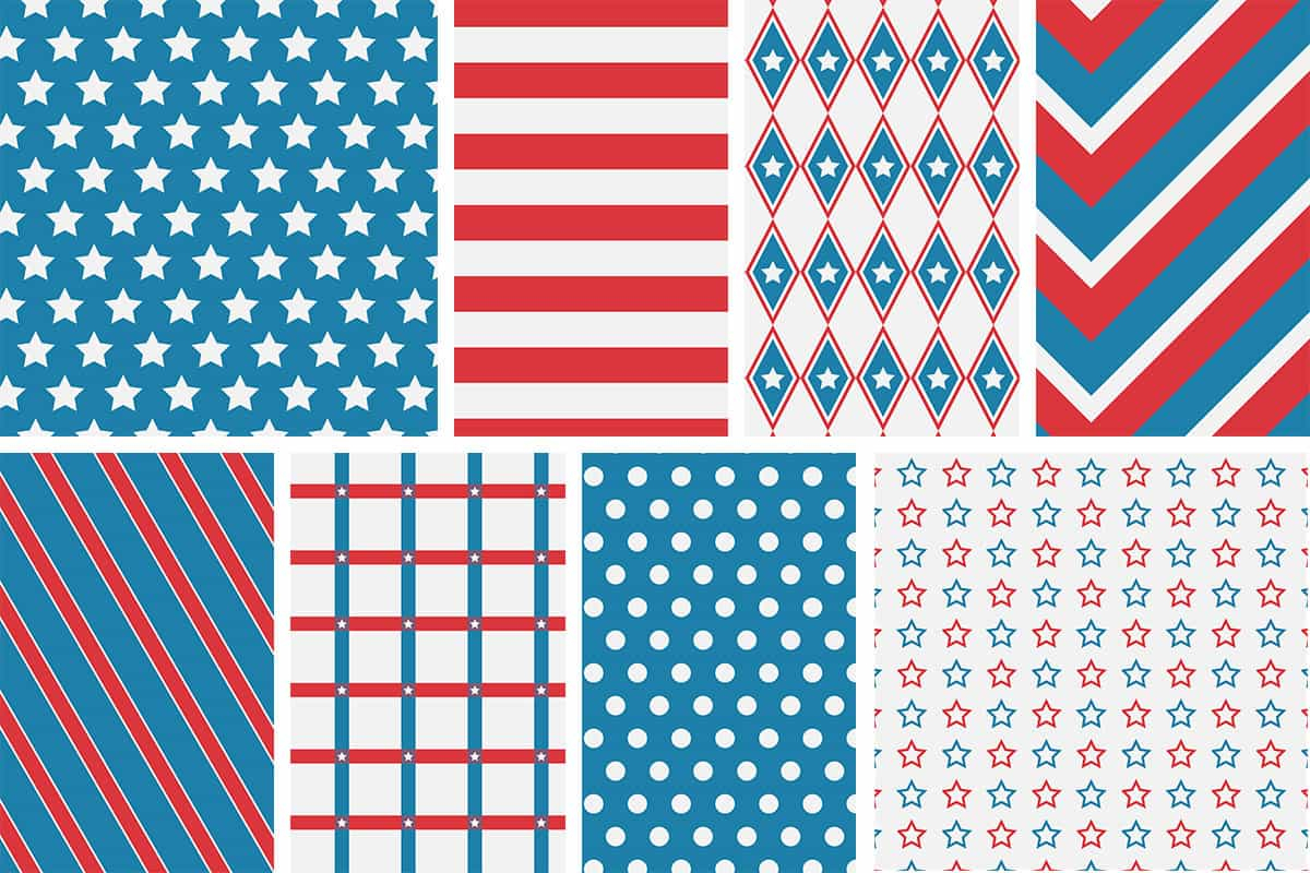 Patriotic 4Th Of July Digital Papers - Love Paper Crafts - Free Printable Patriotic Writing Paper