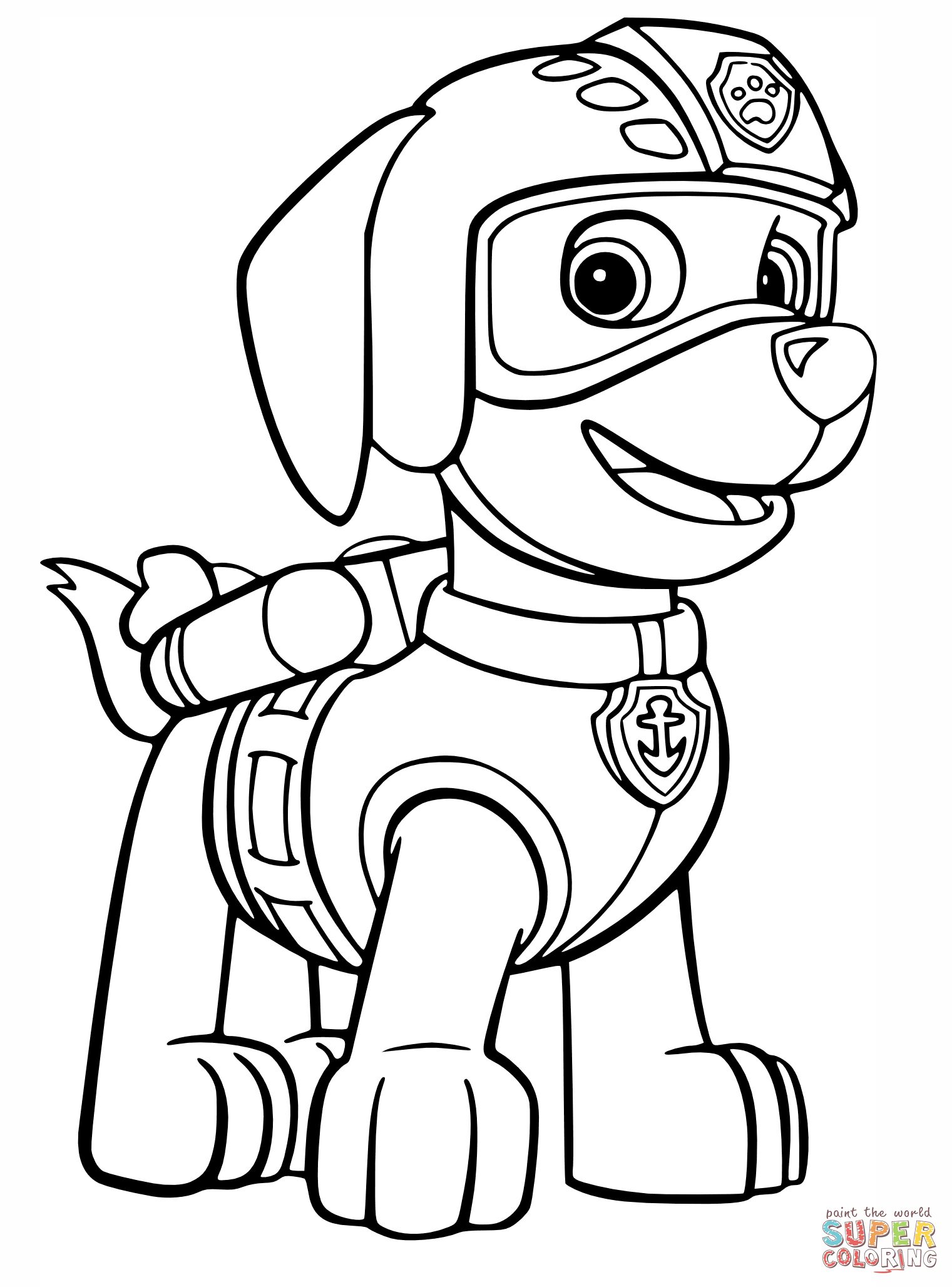 Paw Patrol Coloring Pages | Free Coloring Pages - Free Printable Paw Patrol Coloring Pages