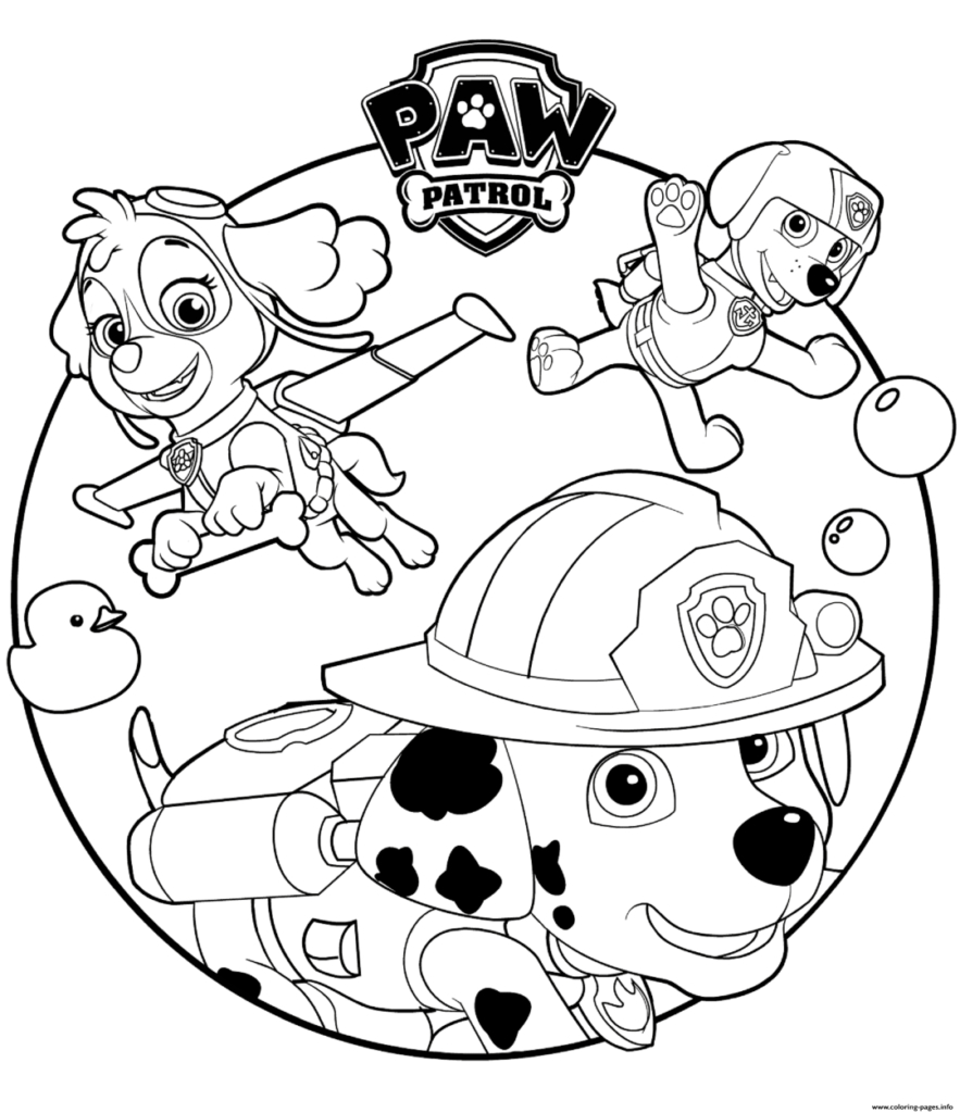 Paw Patrol Coloring Pages | Templates Coloring | Pinterest | Paw - Free Printable Paw Patrol Coloring Pages