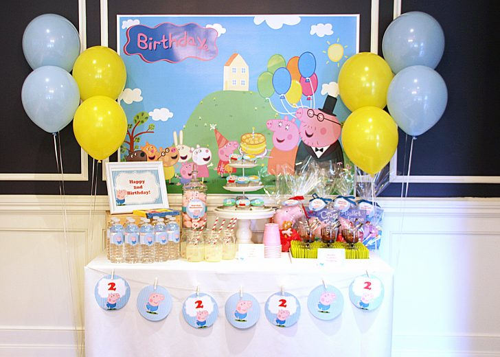 Peppa Pig Birthday Banner Printable Free