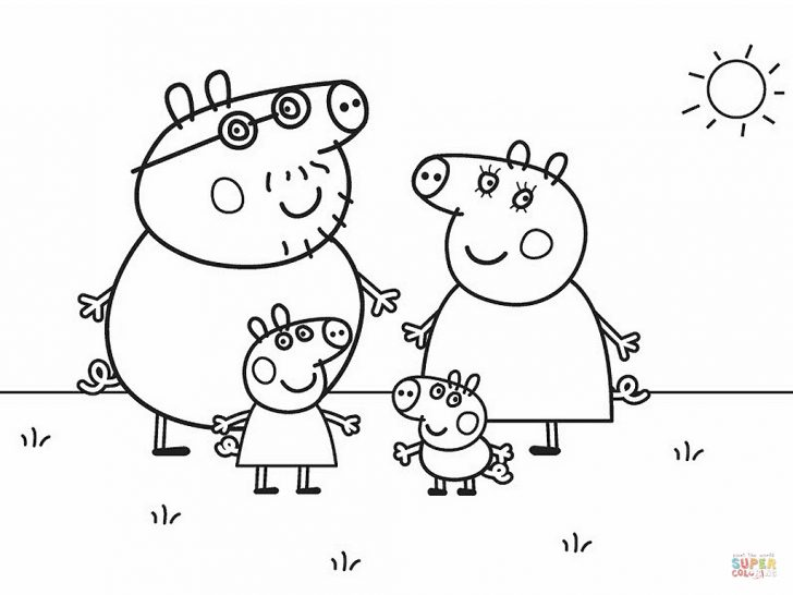 Peppa Pig Character Free Printable Images