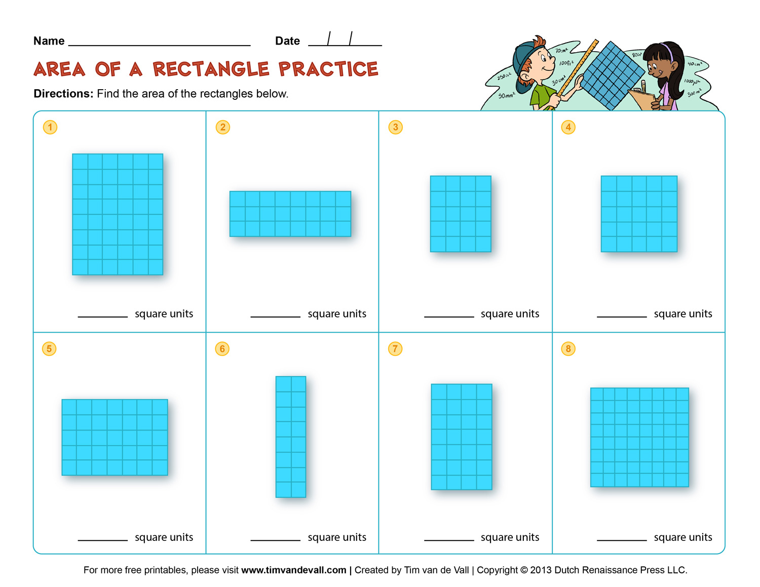 Perimeter Worksheets 3Rd Grade For Education - Math Worksheet For Kids - Free Printable Perimeter Worksheets 3Rd Grade