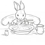 Peter Rabbit At Home Coloring Page | Free Printable Coloring Pages   Free Printable Peter Rabbit Coloring Pages