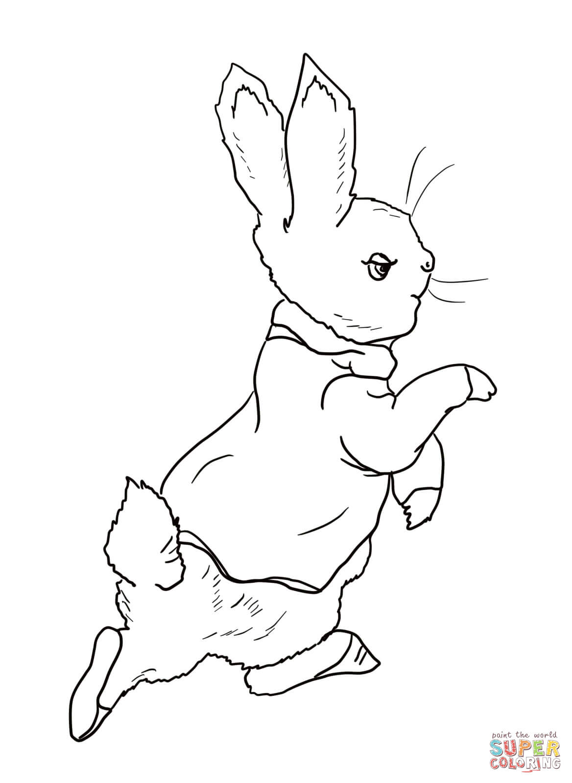 Peter Rabbit Coloring Pages | Free Coloring Pages - Free Printable Peter Rabbit Coloring Pages