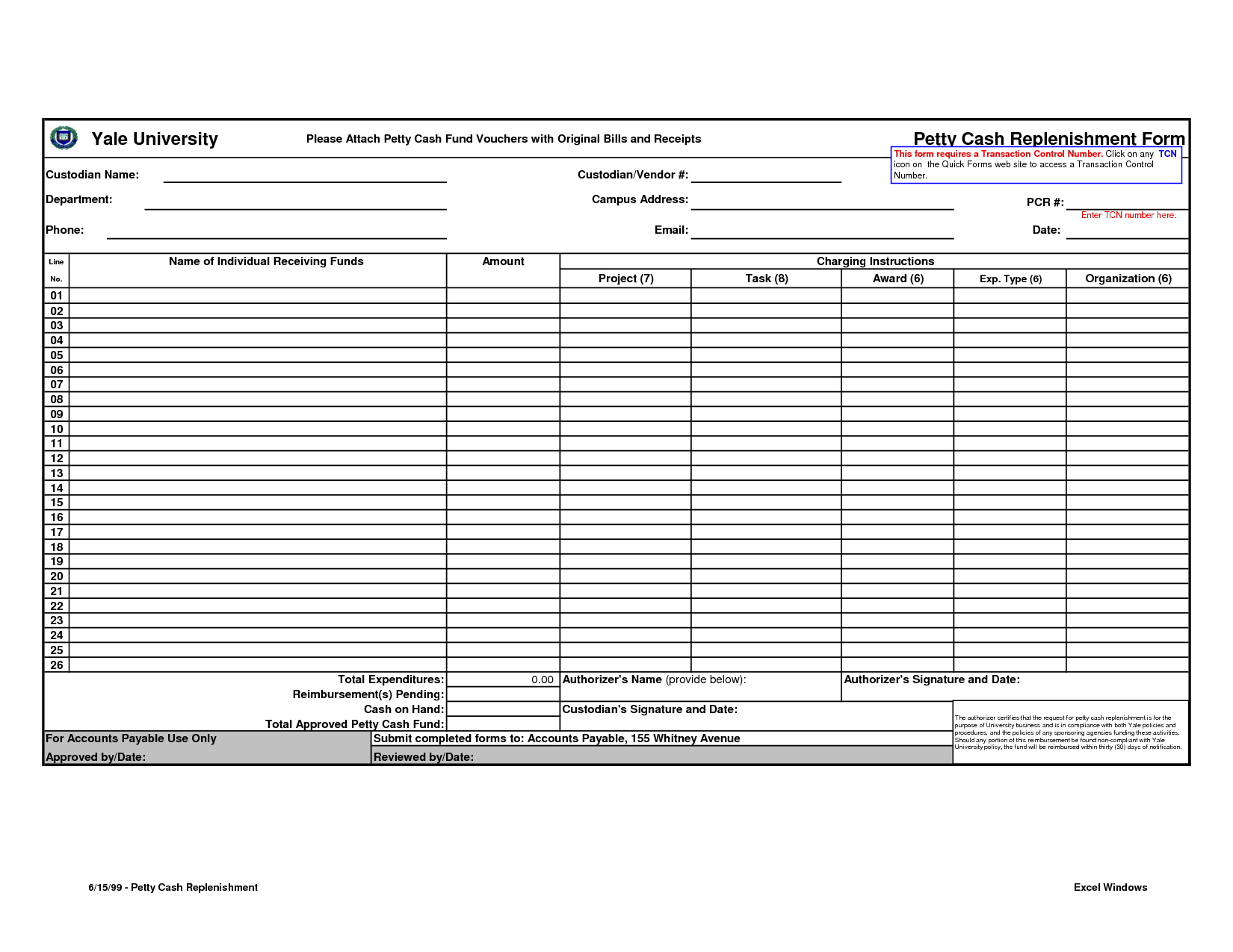 Petty Cash Form Template Excel   Tips   Resume Template Free - Free Printable Petty Cash Template