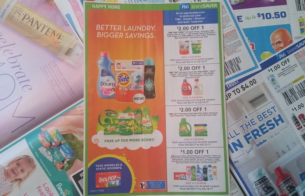 P&g Makes More Tide, Gain, Downy & Bounce Coupons Disappear - Tide Coupons Free Printable