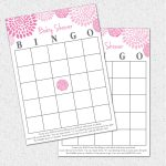 Photo : Baby Shower Baby Bingo Image   Baby Bingo Game Free Printable