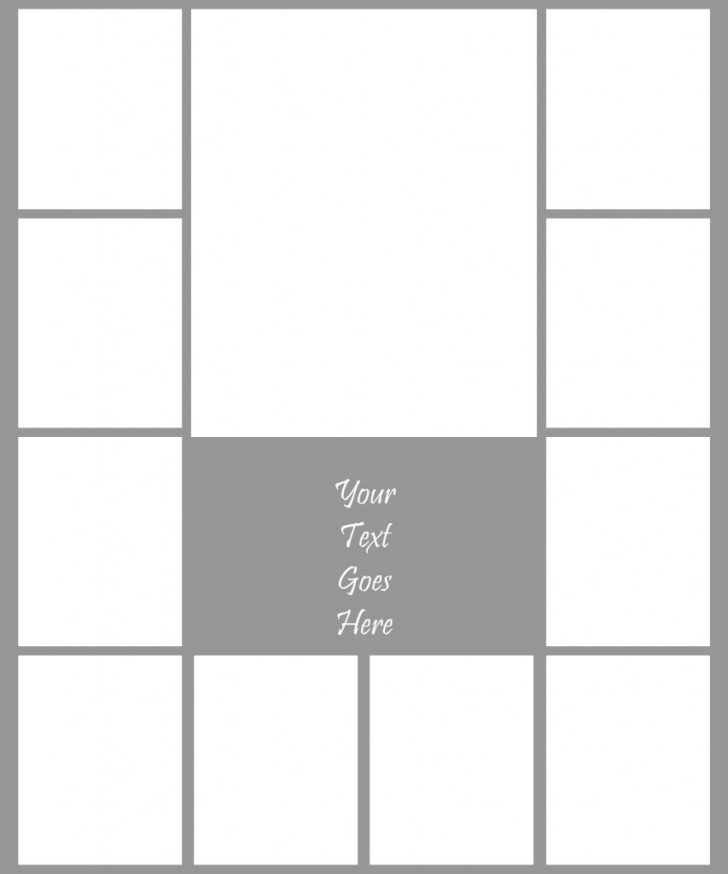 Free Printable Photo Collage Template