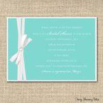 Photo : Free Bridal Shower Invitation Card Image   Free Printable Bridal Shower Invitations Templates