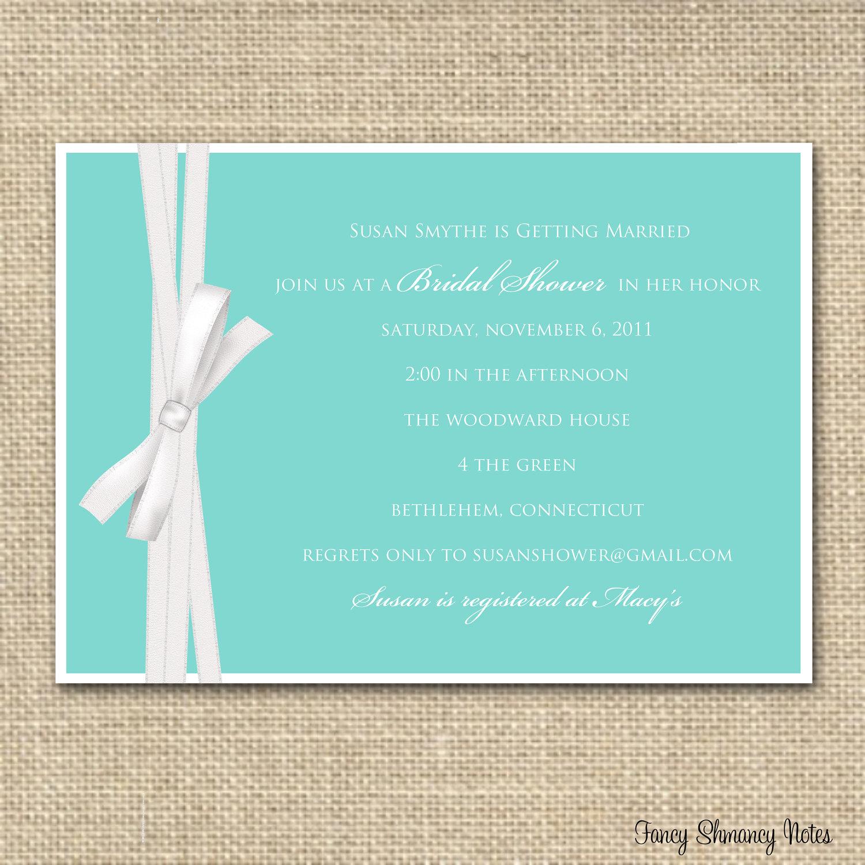 Photo : Free Bridal Shower Invitation Card Image - Free Printable Bridal Shower Invitations Templates