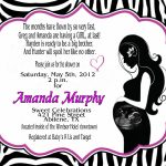 Photo : Mickey Mouse Invitation Diy Image   Free Printable Zebra Baby Shower Invitations