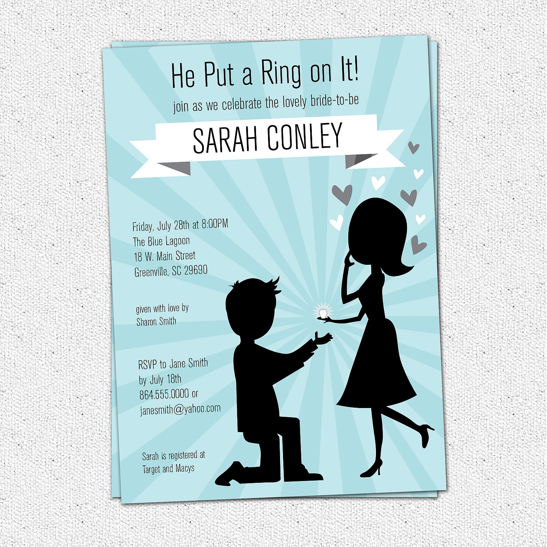 Photo : Pinterest Printable Bridal Shower Image - Free Printable Beach Theme Bridal Shower Invitations