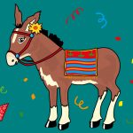 Pin The Tail On The Donkey Drawing At Getdrawings | Free For   Pin The Tail On The Donkey Printable Free