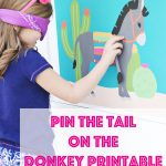 Pin The Tail On The Donkey   The Crafting Chicks   Pin The Tail On The Donkey Printable Free