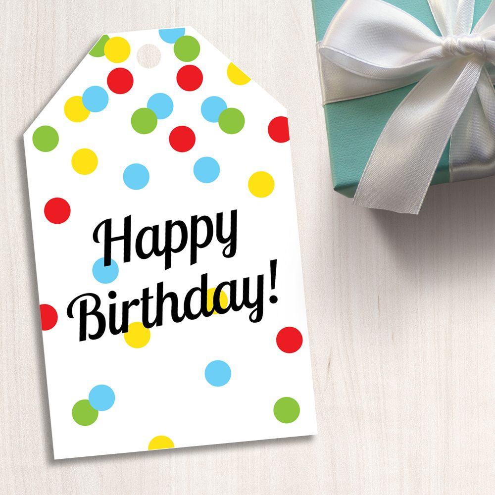 Pinashlea Marlett On Teacher Gifts   Pinterest   Happy Birthday - Party Favor Tags Free Printable