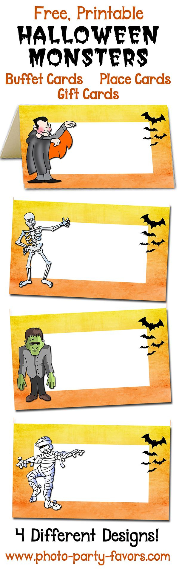 Pinchristi Pew On Hosa Blood Drive   Halloween Buffet, Halloween - Free Printable Halloween Place Cards