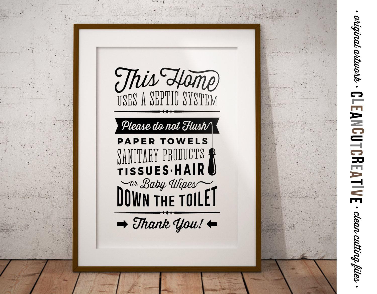 Pincleancutcreative On Printables Posters - Printable Signs - Free Printable Do Not Flush Signs