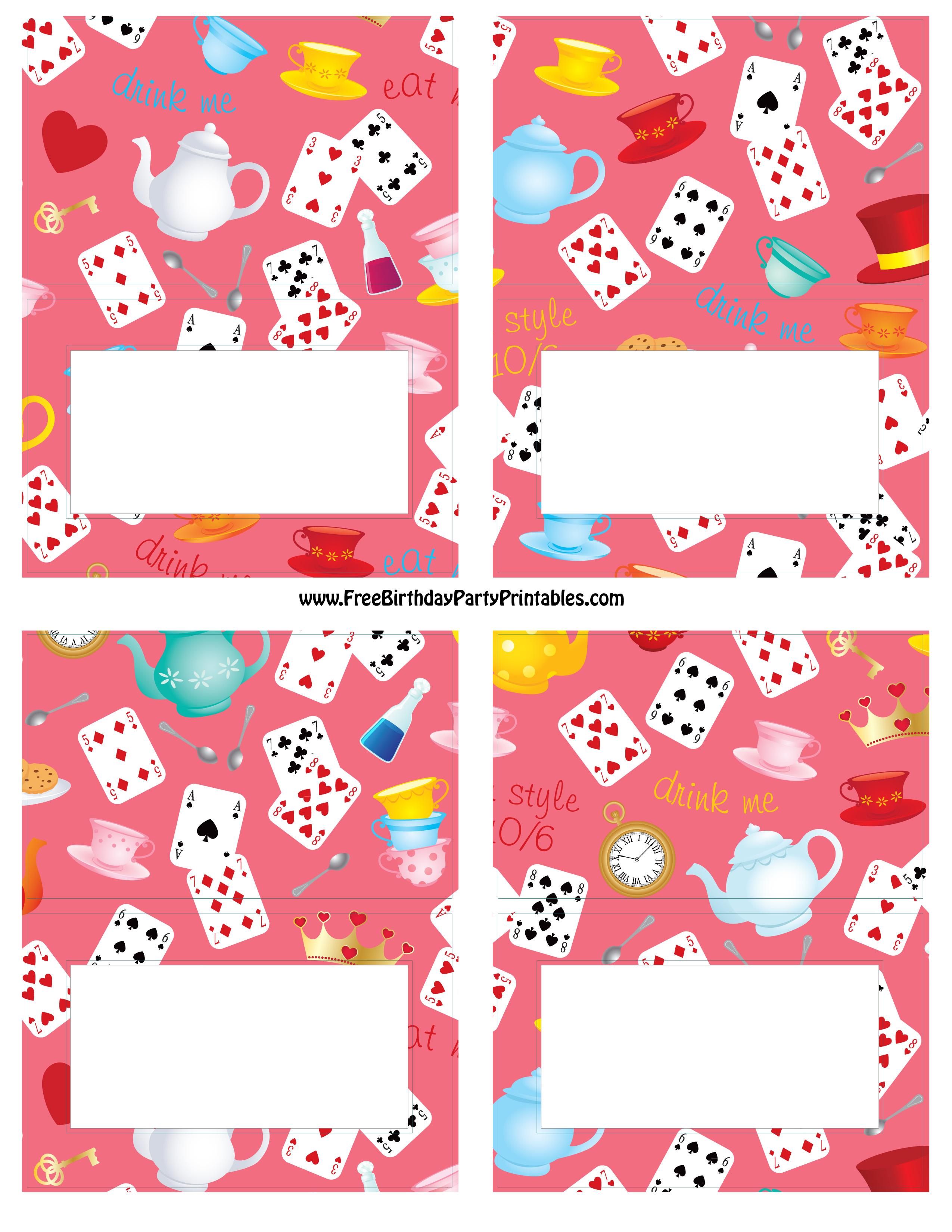 Pincrafty Annabelle On Alice In Wonderland Printables - Alice In Wonderland Signs Free Printable