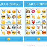 Pincrafty Annabelle On Emoji Printables | Emoji Bingo, Bingo, Emoji   Free Emoji Bingo Printable