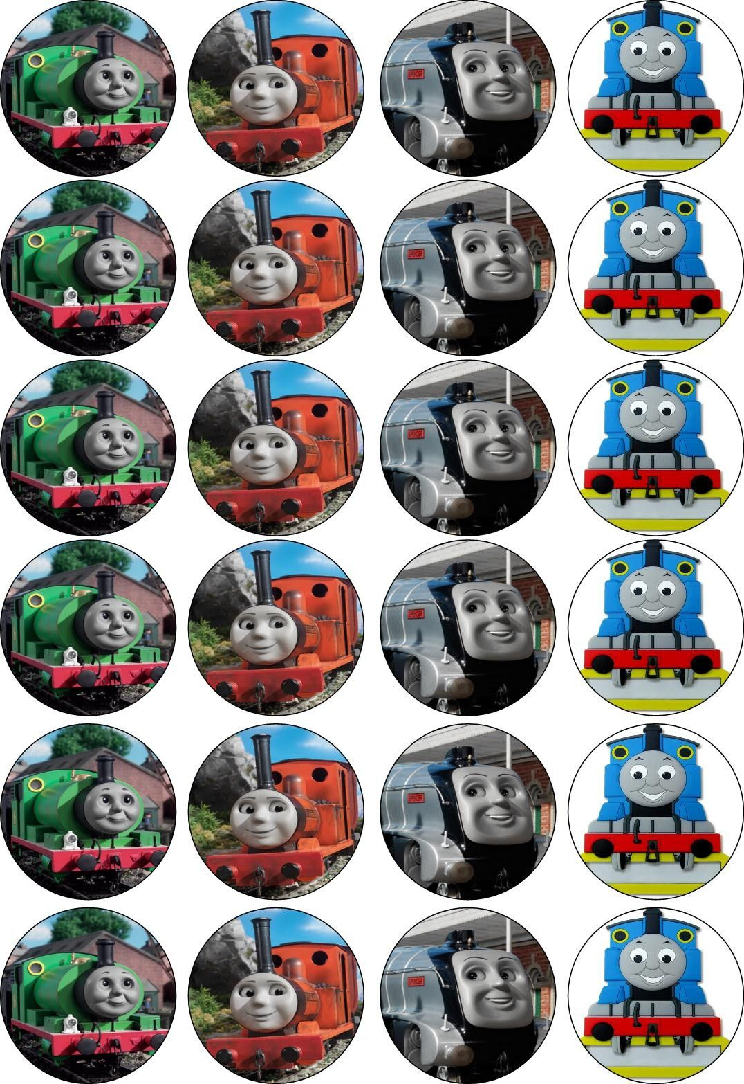 photo about Free Printable Thomas the Train Cup Cake Toppers called Free of charge Printable Thomas The Coach Cupcake Toppers Free of charge