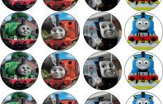 Free Printable Train Cupcake Toppers