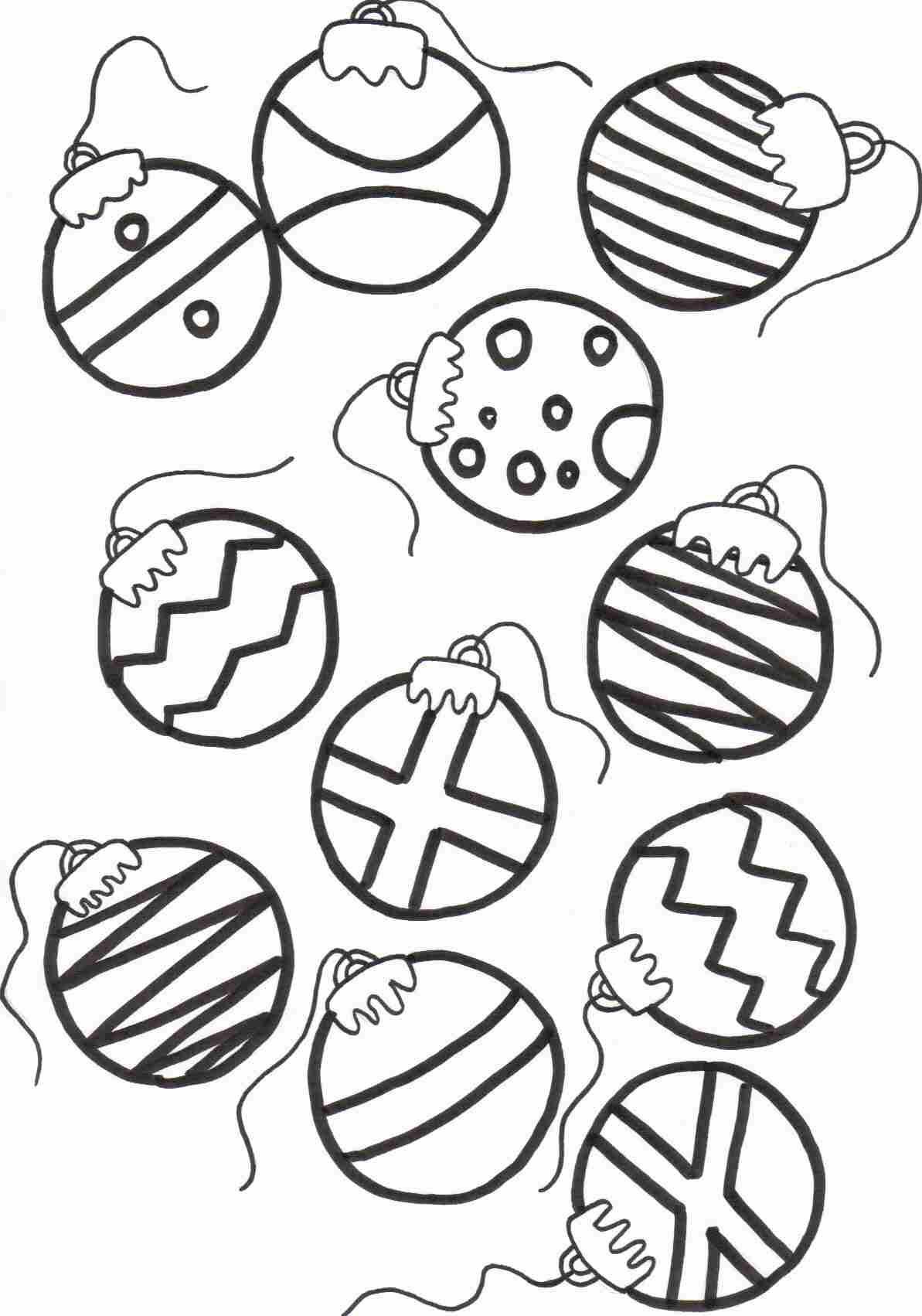 Pindai Davis On E L E M E N T A R Y | Pinterest | Christmas Tree - Free Printable Christmas Tree Ornaments To Color