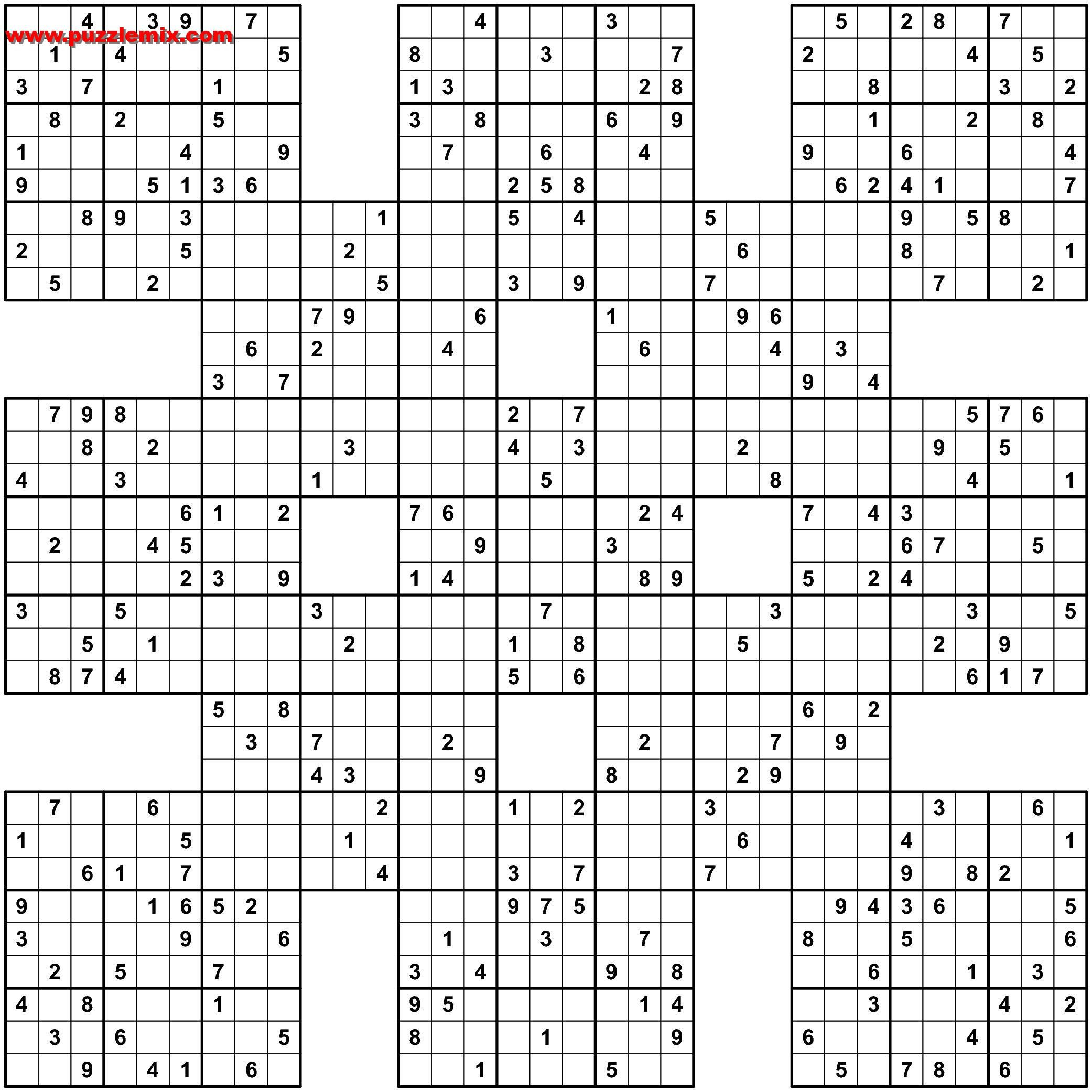Pindiane Shepard On 13Grid 1 | Pinterest | Sudoku Puzzles - Sudoku 16X16 Printable Free