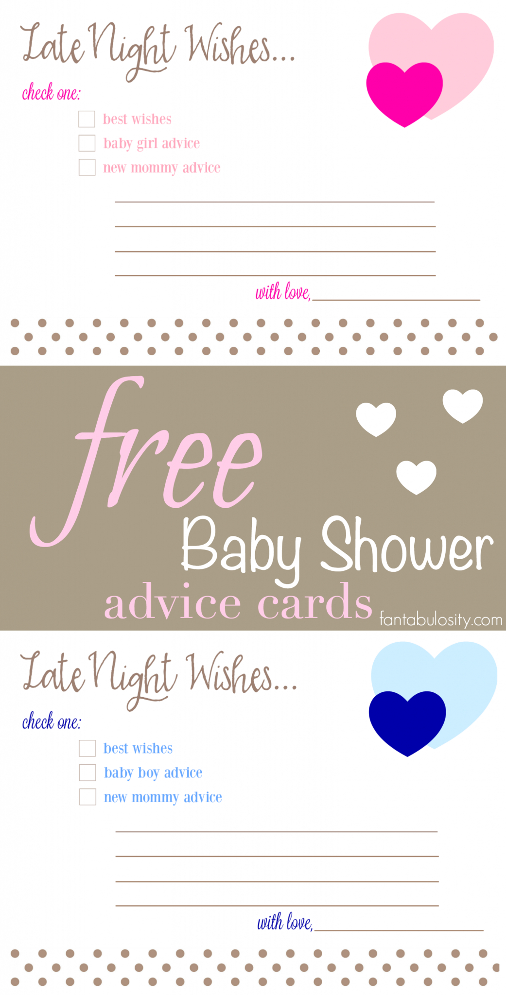 Pinfantabulosity - Life + Style Blog On Best Of Fantabulosity - Free Mommy Advice Cards Printable