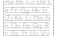 Free Printable Tracing Alphabet Worksheets