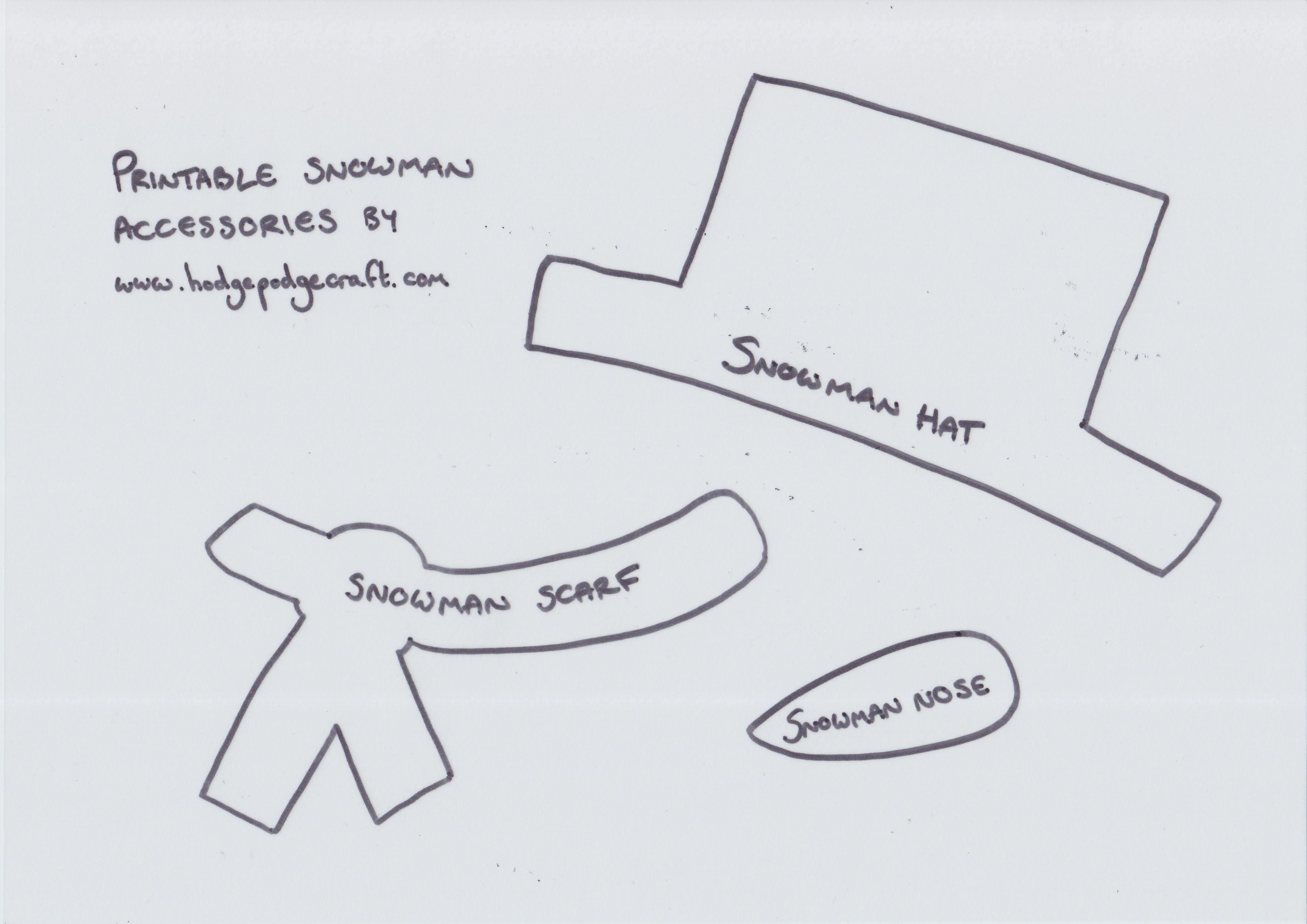Pinkaren Lashley On The Holiday Inn | Snowman Crafts, Snowman - Free Printable Snowman Patterns