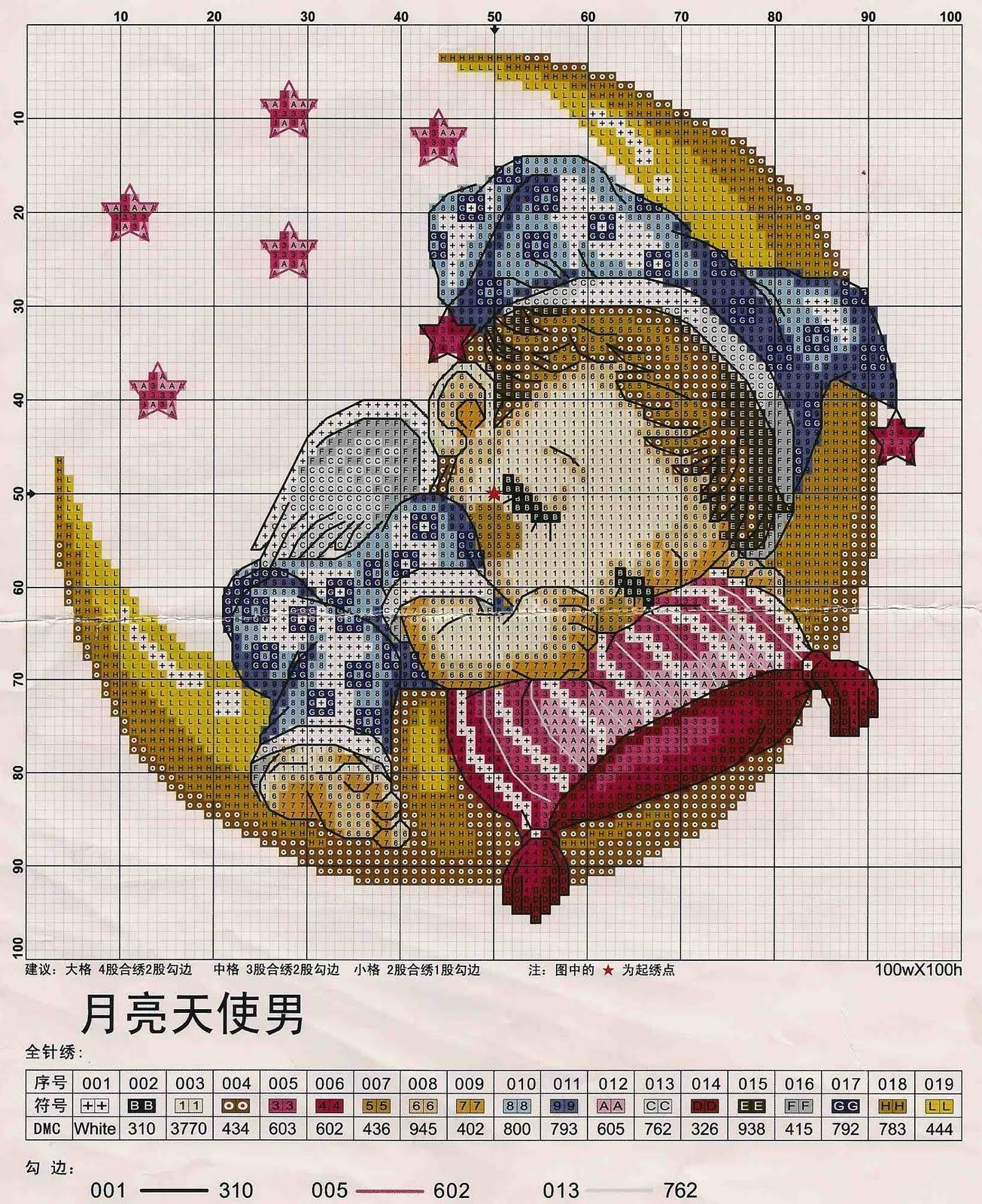Pinleonora Binedell On Cross Stitch.   Pinterest   Baby Cross - Free Printable Cross Stitch Patterns Angels