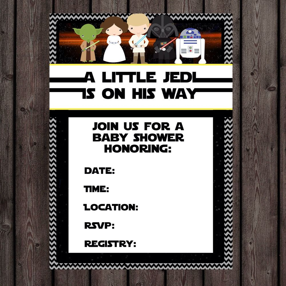 Pinlita Loncich Photography On Bre/ Bob Babyshower | Baby Shower - Free Printable Star Wars Baby Shower Invites