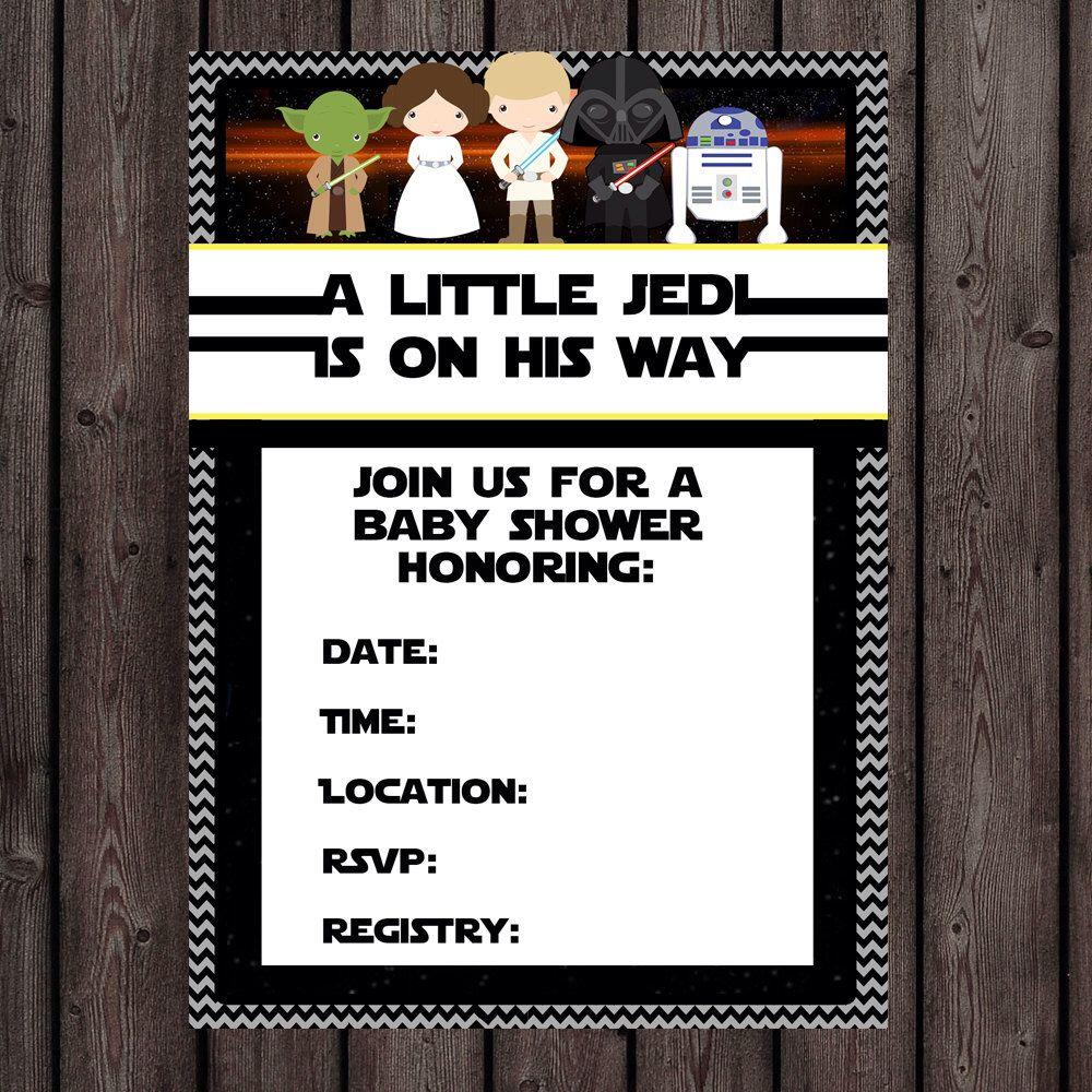 Pinlita Loncich Photography On Bre/ Bob Babyshower | Baby Shower - Free Printable Star Wars Baby Shower Invites