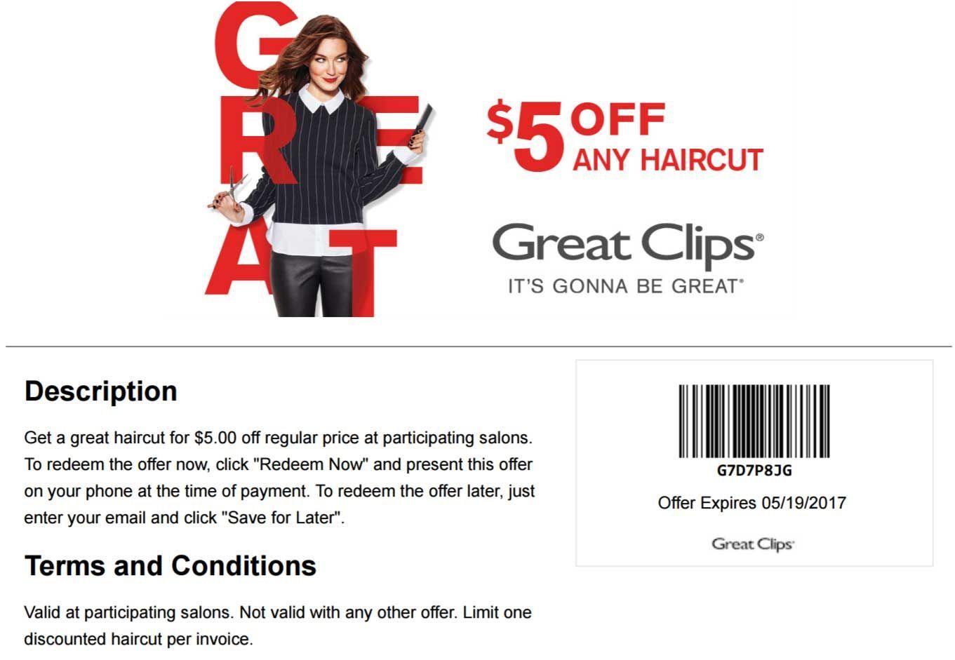 Pinsai Prashant Gnaneshwar On Hair Cut Salon | Pinterest | Great - Great Clips Free Coupons Printable