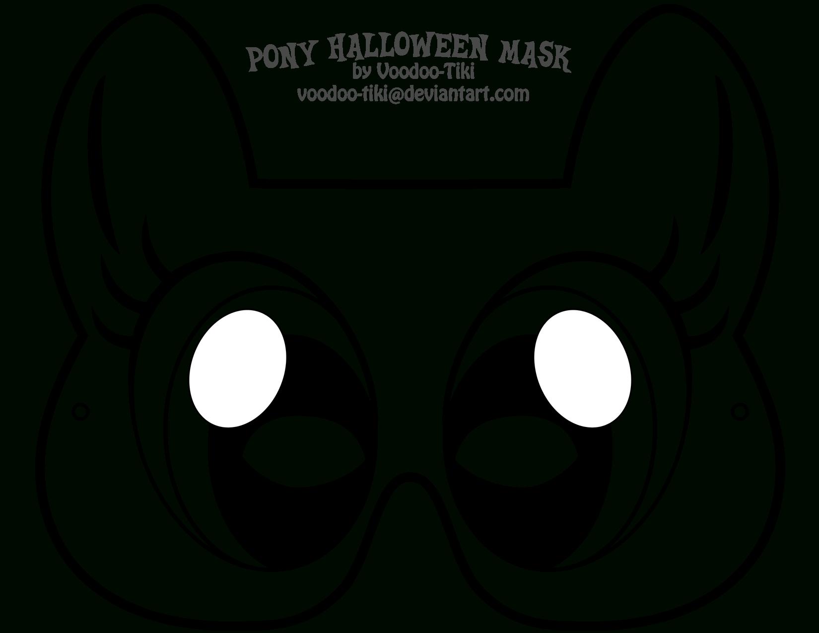 Pinsamarra Putt On Oakley's 1St Birthday! | Halloween Masks, My - Free My Little Pony Printable Masks