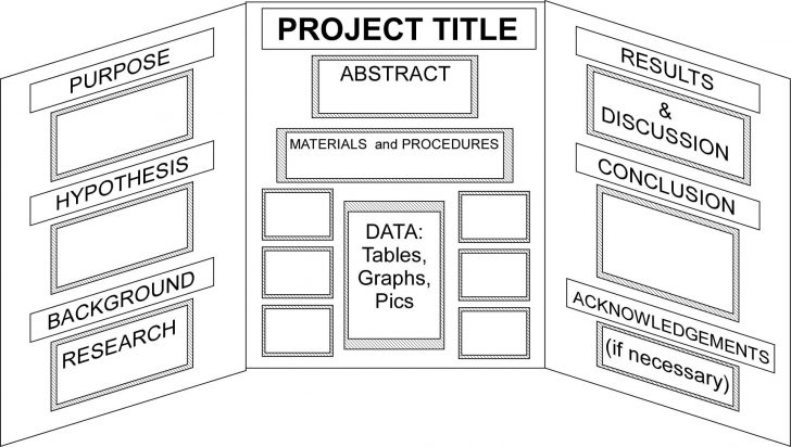 Free Printable Science Fair Project Board Labels