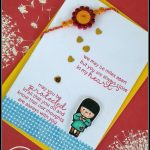 Pinshikha Chamaria On Rakhi Cards | Rakhi Cards, Handmade Rakhi   Free Online Printable Rakhi Cards